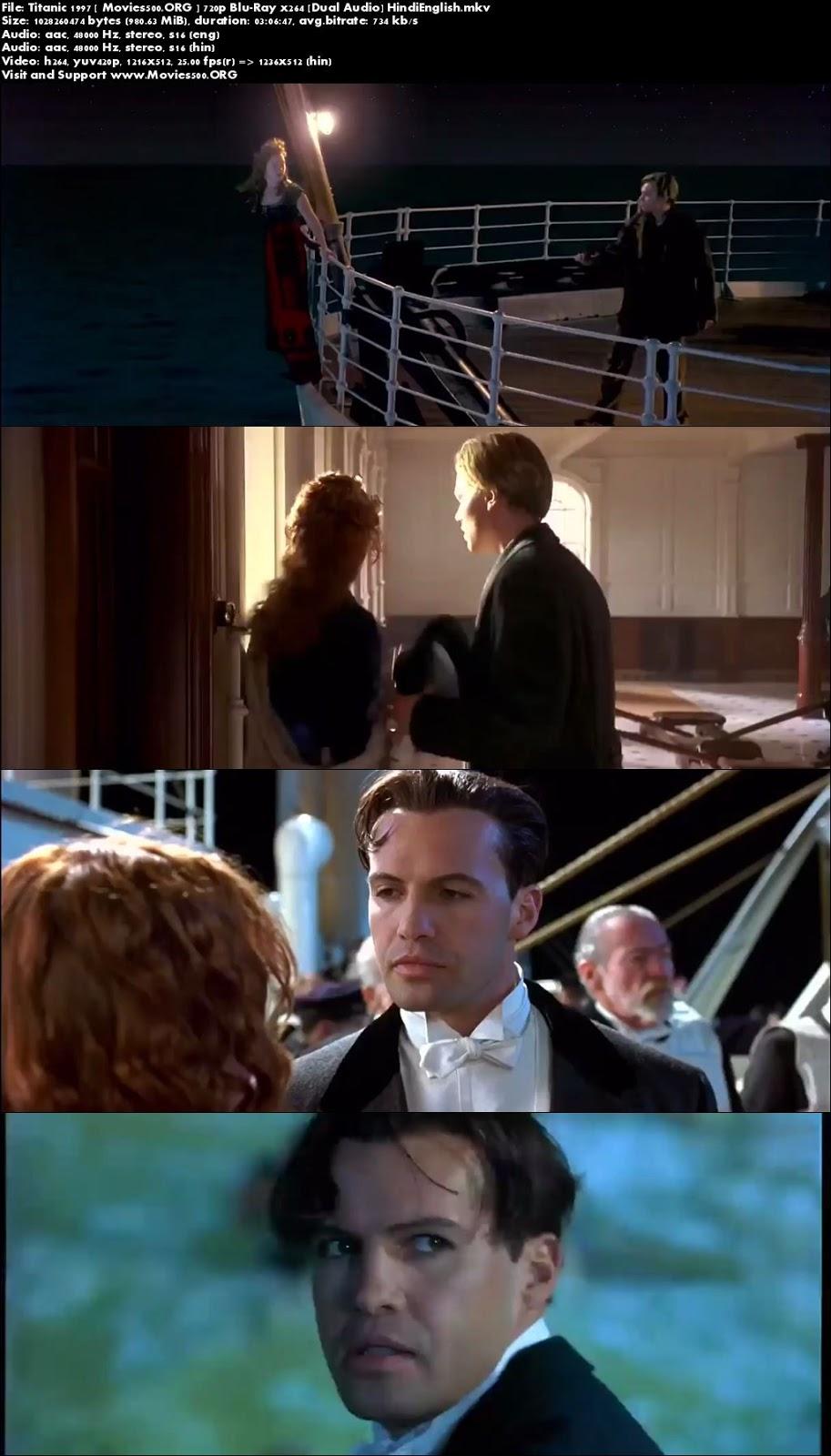 Titanic 1997 Dual Audio Hindi Movie Download BluRay at sweac.org