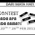 Contest: Ada Apa Pada Nama