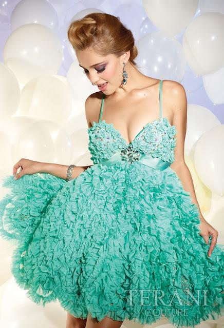 Vestidos cortos de fiesta terani 2012 27 - Gen� K�z Abiye Modelleri