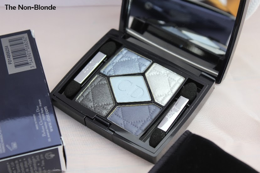 dior bleu de paris 5 couleurs new look eyeshadow palette the non blonde. Black Bedroom Furniture Sets. Home Design Ideas