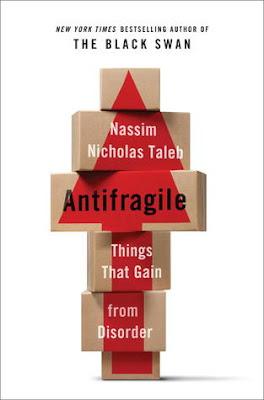 Livro Antifragile - Nassim Nicholas Taleb