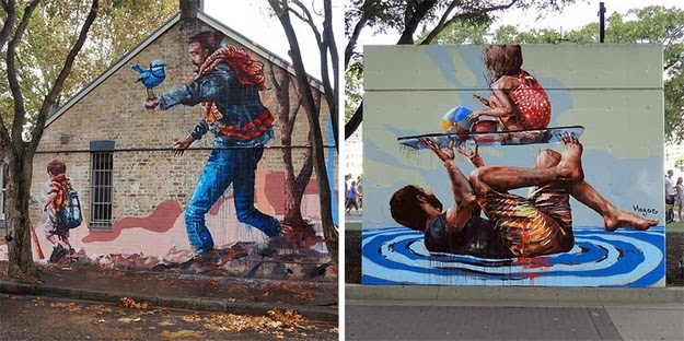 creative murals by Fintan Magee