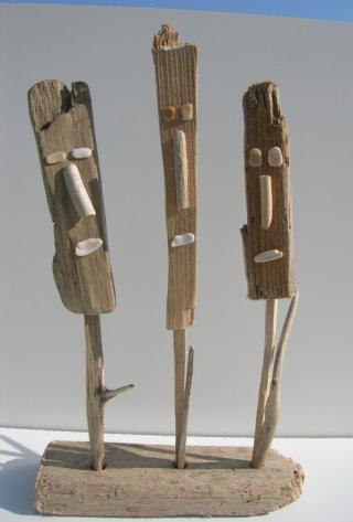 Coquillage et cr ation bois flott gr ce naturelle - Creation bois flotte ...