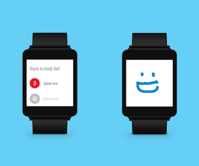 Skype Calling enables on Android Smart Watch