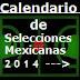 Calendario de los 10 eventos de Selecciones Mexicanas de Baloncesto en 2014
