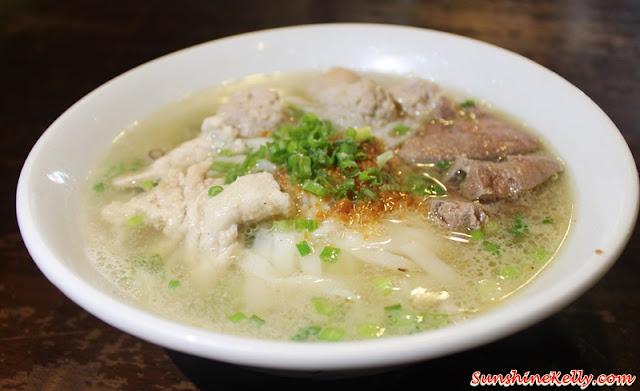 Angcle Peoh, Bandar Bukit Tinggi, Klang, Penang Ayer Itam Market, Asam Laksa, Penang Hawker Food, Pork Noodle soup