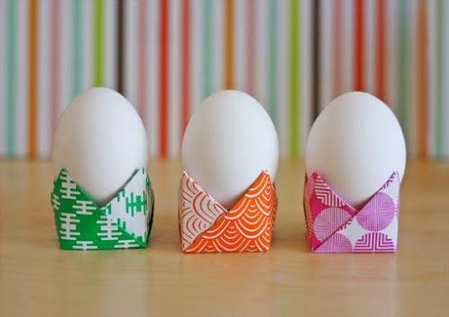 Decorazioni Pasquali Da Tavola : Tavola di pasqua decorazioni con origami facili