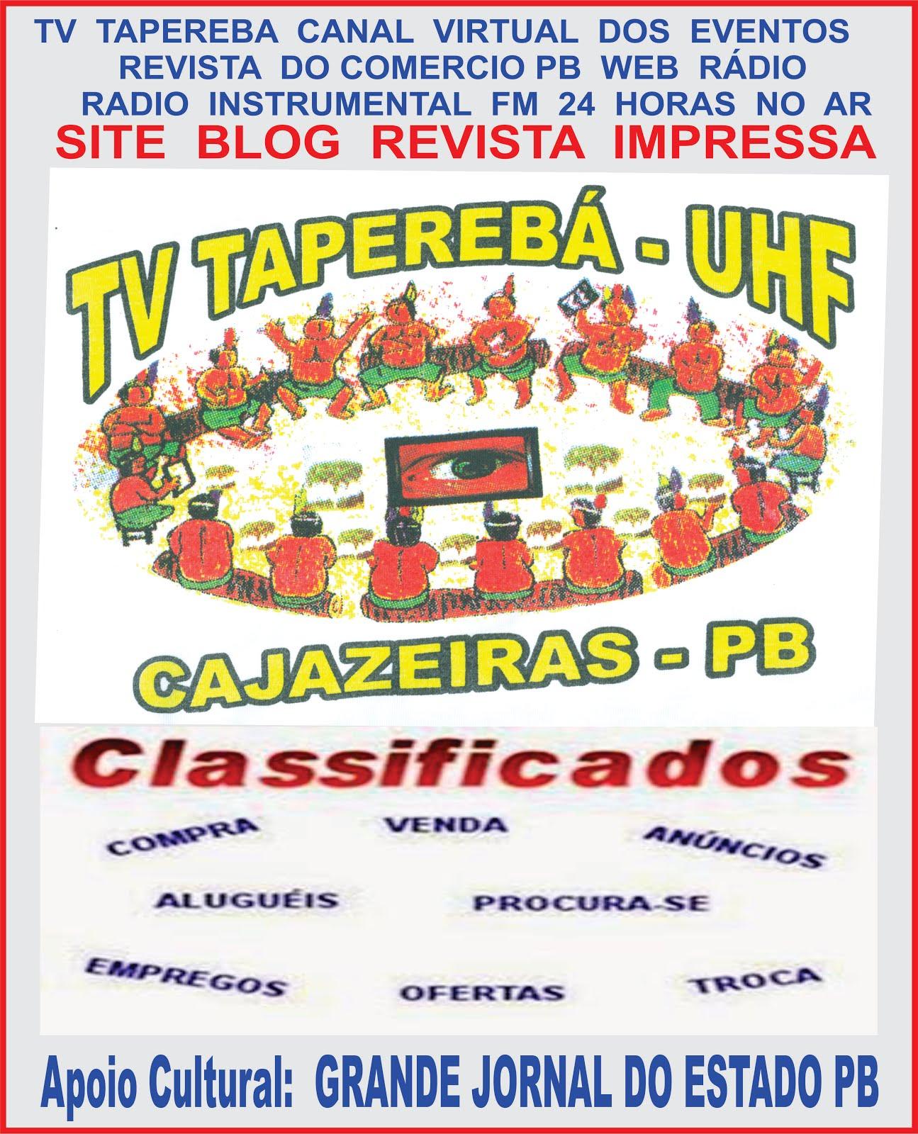 BREVE O CANAL  NO YOUTUBE  NOVA   TV  TAPEREBÁ CAJAZEIRAS PB