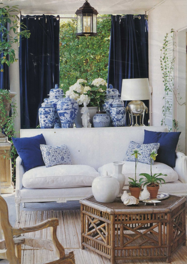 diy design interiors classic blue and white porcelain