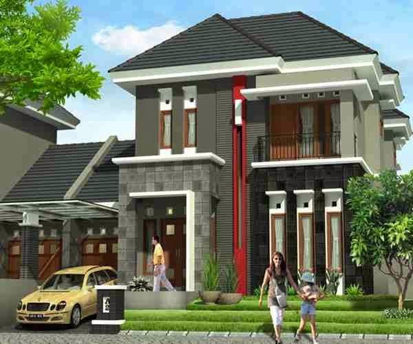 Minimalist One Storey House With Modern Art Two Story Modern Home Modern Home Minimalist Modern Home Minimalist