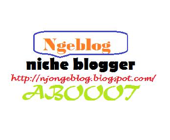"""Niche blog """"blogger"""" memang berat"""