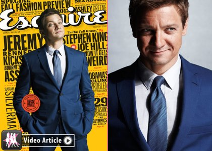 Jeremy Renner Covers Esquire August 2012 » Gossip/Jeremy Renner