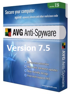 Free Download Security AVG Anti-Spyware 7.5