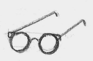 Glasses source drawing