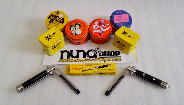 Online Shop Pomade Murray's Purwokerto Jual Minyak Rambut Superior, Nu Nile, Super Light, Hair-Glo dan New Exelento Murah