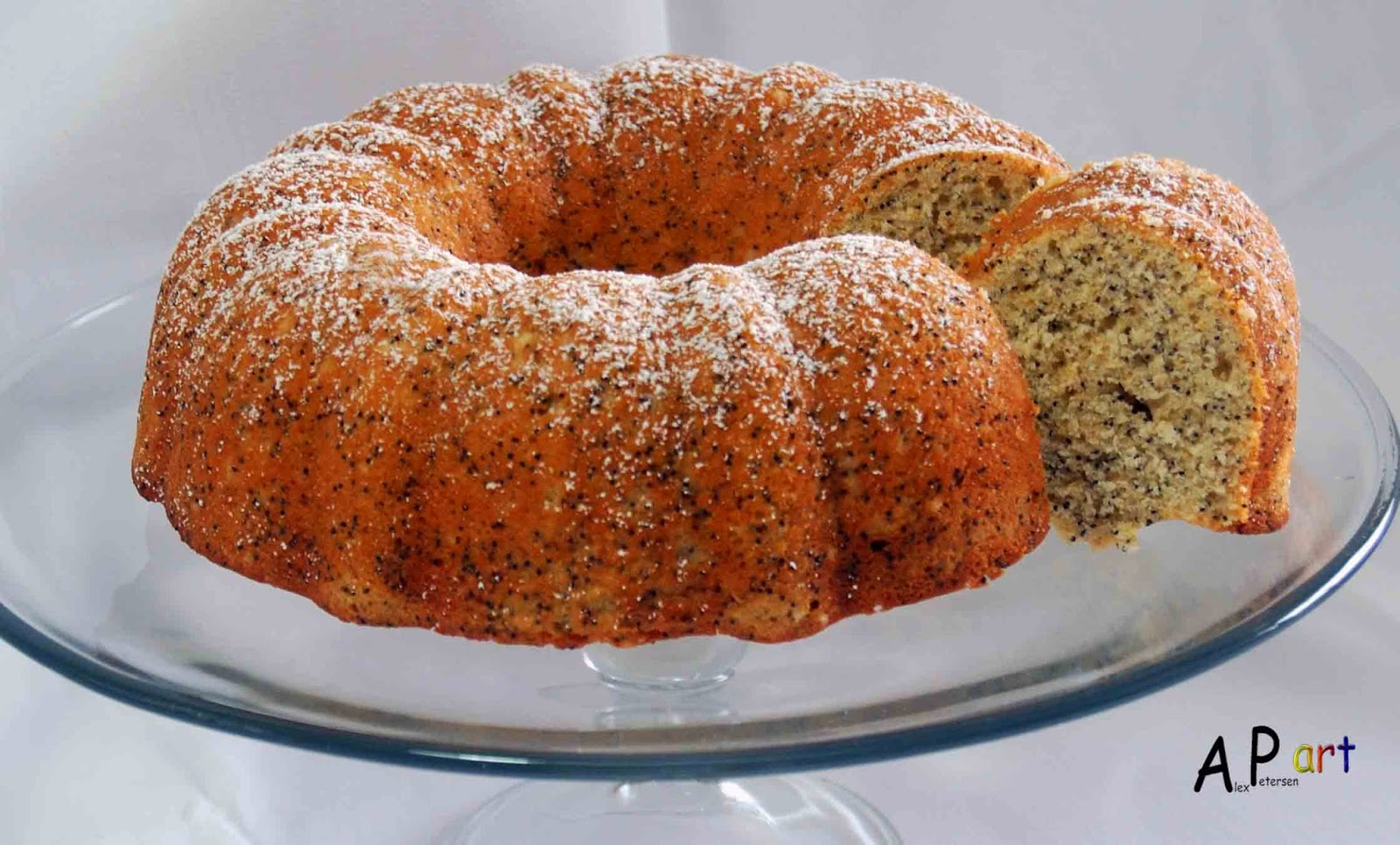 Alex the Contemporary Culinarian: Lime Poppy Seed Bundt Cake