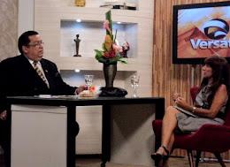 Entrevista com Toinho Silveira na TV Ponta Negra.