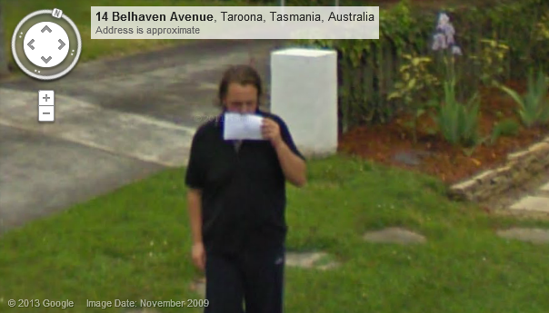 Seen On Street View Australia