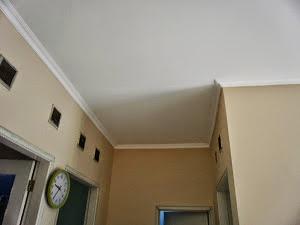 plafon gypsum flat