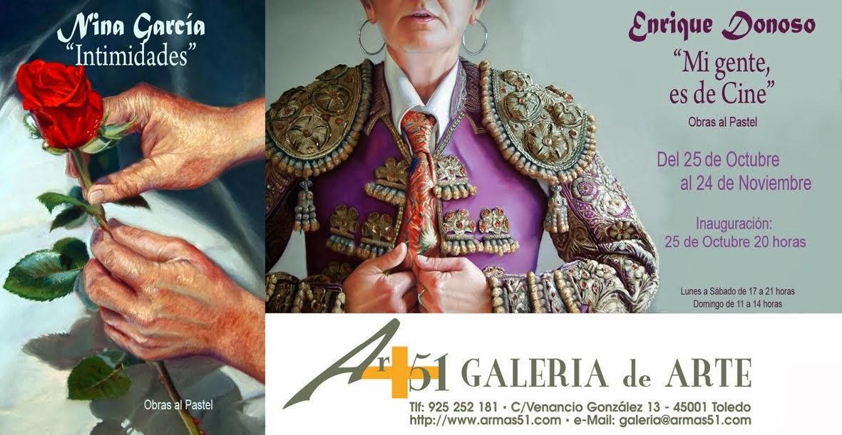 """""""MI GENTE ES DE CINE"""" e """"INTIMIDADES"""" en Galería ar+51 de Toledo"""