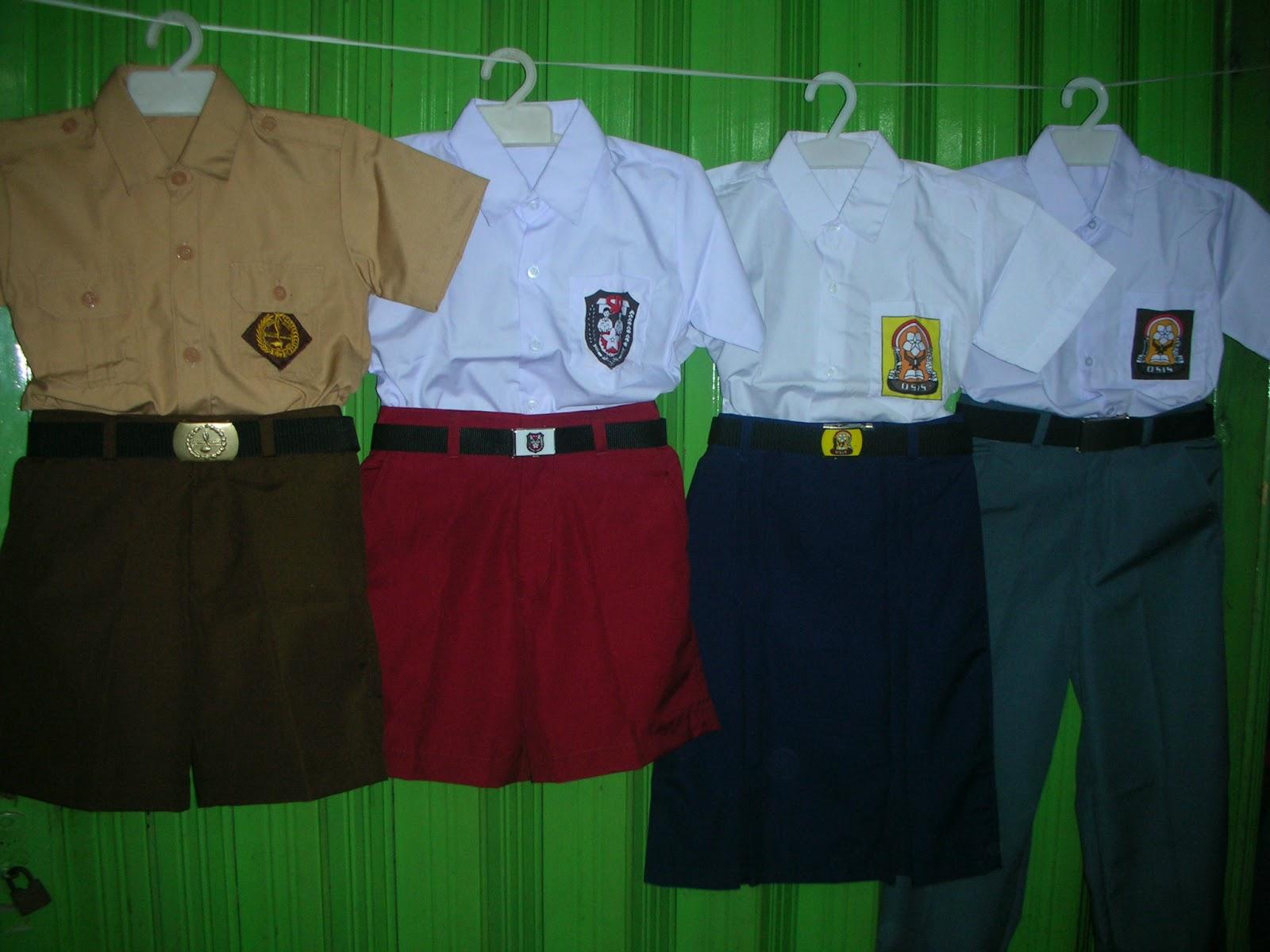 Seragam Sekolah SD SMP SMA dan Pramuka Rio Seragam Sekolah