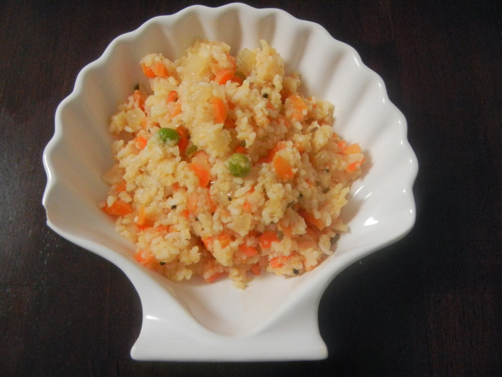 Gitas kitchen a blog for indian diabetic recipes and healthy kids and toddler recipes carrot and peas rice forumfinder Choice Image