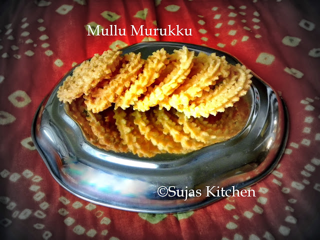 How to make Mullu Murukku/Chakli -Easy Diwali Snack