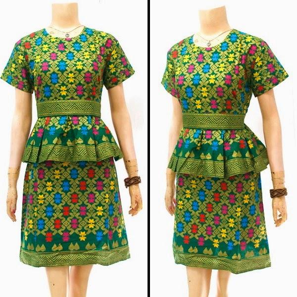Dress Batik Prada