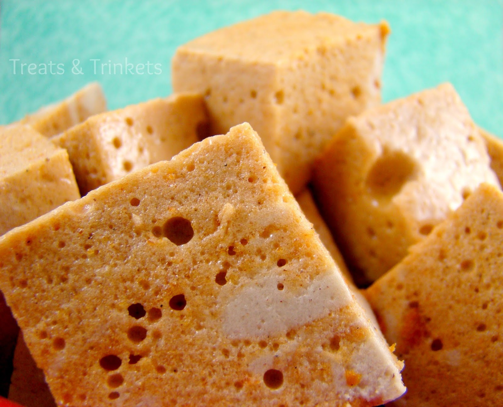 Treats & Trinkets: Pumpkin Spice Marshmallows
