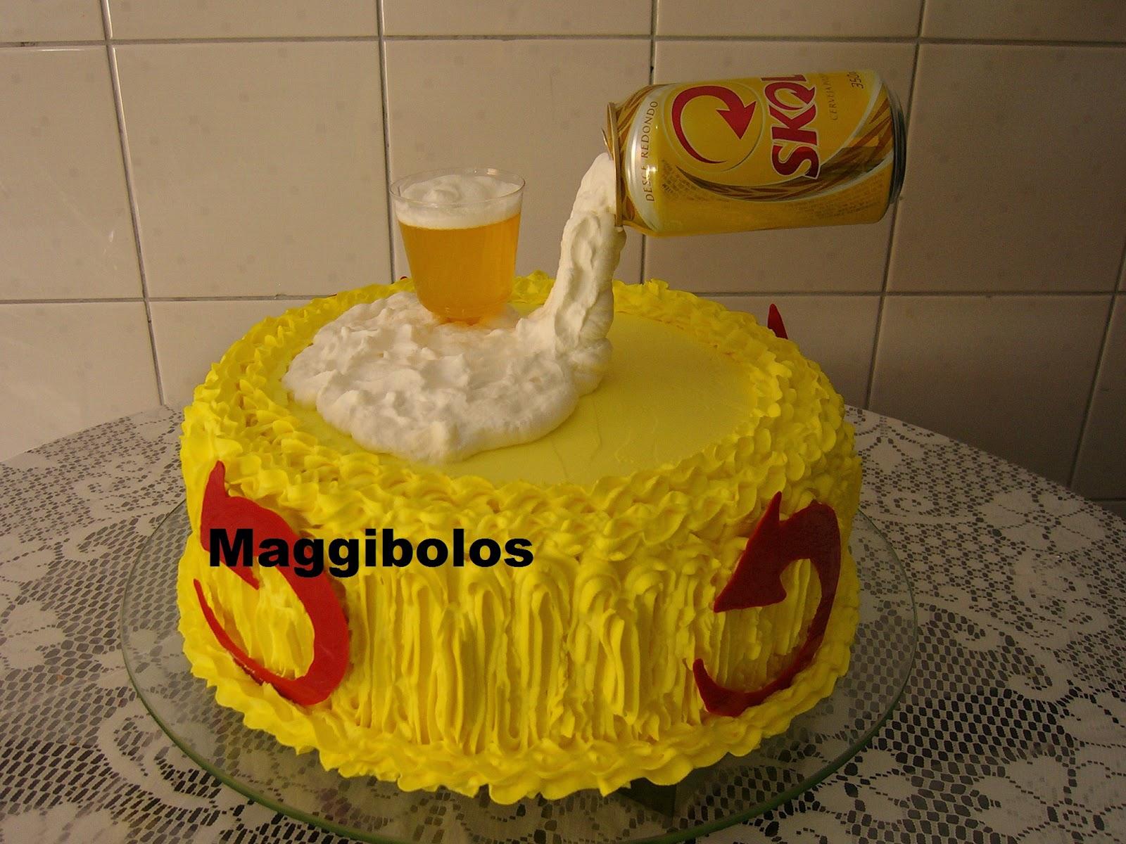 Extremamente Maggi Bolos = Guanambi- Bahia: Bolo da Cerveja IX YM32