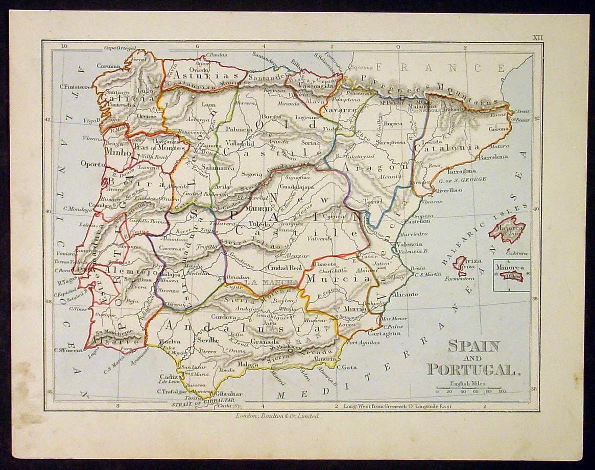 1890 Castilla la Vieja y Castilla la Nueva