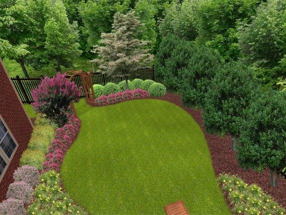 Landscaping in Australia: Basic Shapes of Garden Design