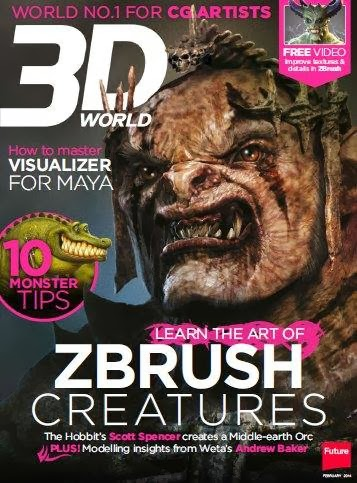 3D World Magazine February 2014