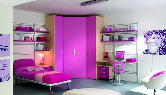 Fashion plannet june 2013 - Purple and pink girls bedroom ...