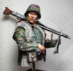 Waffen SS - MG42 Gunner