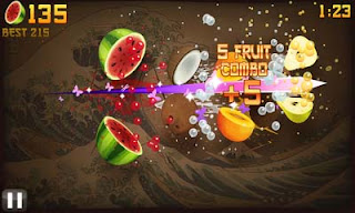Fruit Ninja for Bada OS Free