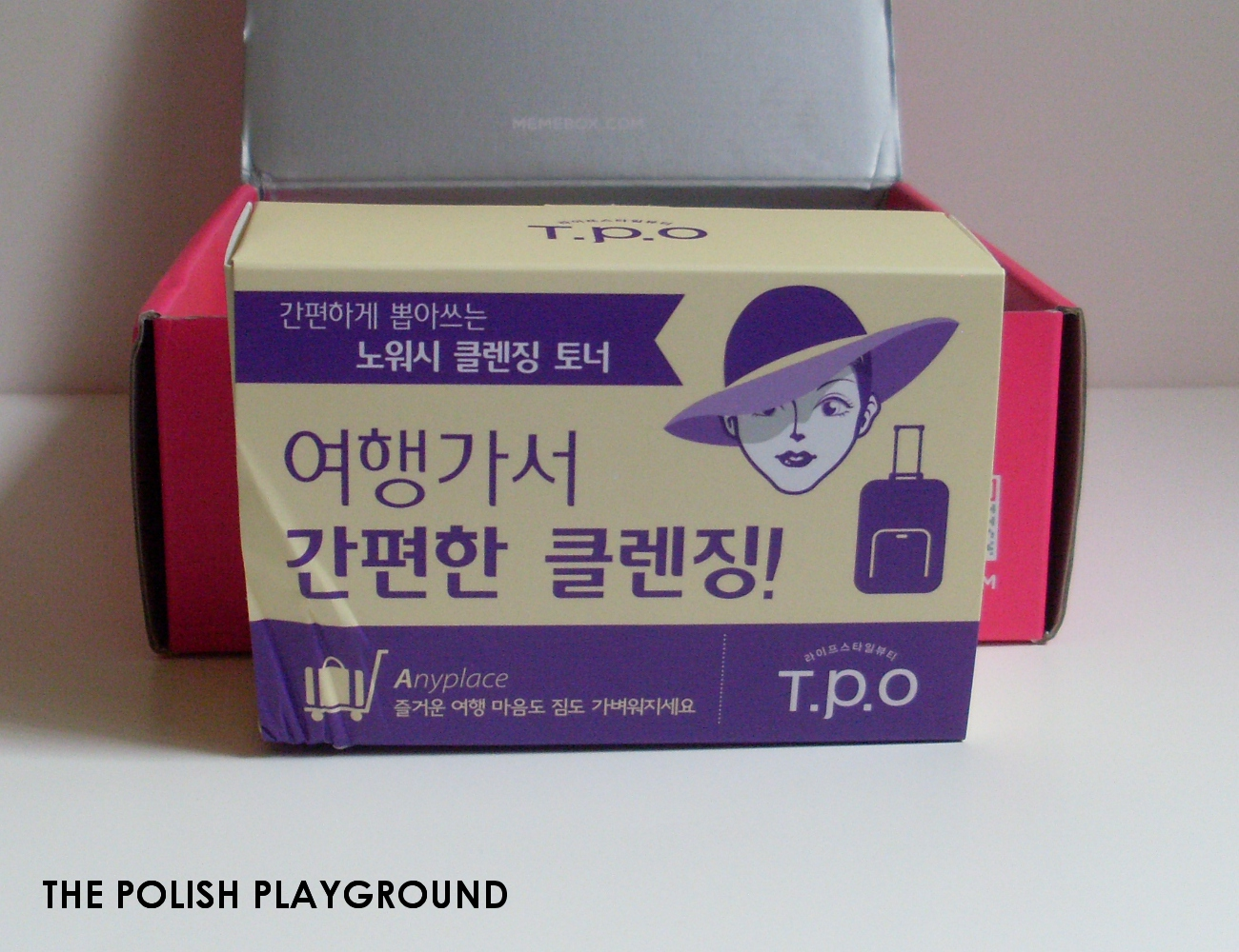 Memebox Special #25 Traveler's Beauty Kit Unboxing - T.P.O No-Wash Toner Sheet