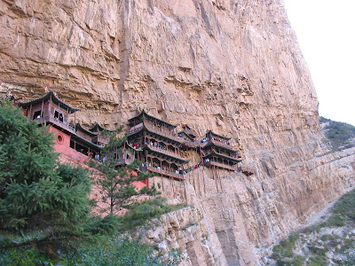 Picture of Hanging temple in china