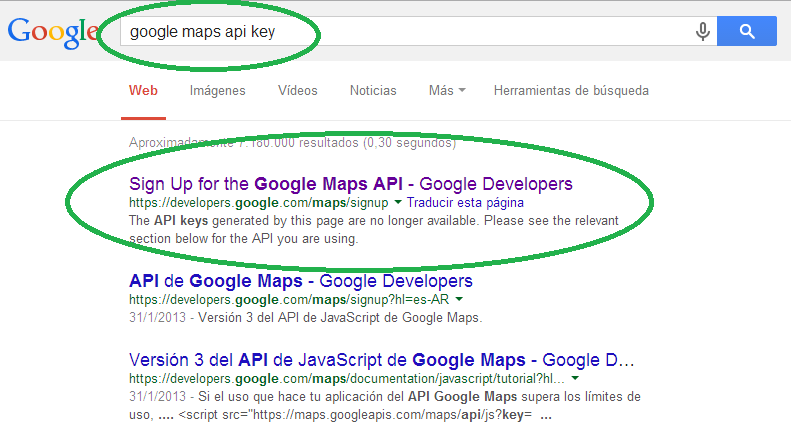 how to develop an api
