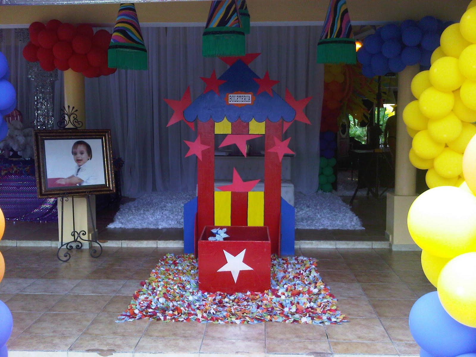Mauricio events cumplea os infantil decoraci n estilo circo - Decoracion de cumpleanos infantiles ...