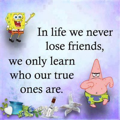 Spongebob and patrick friendship quotes