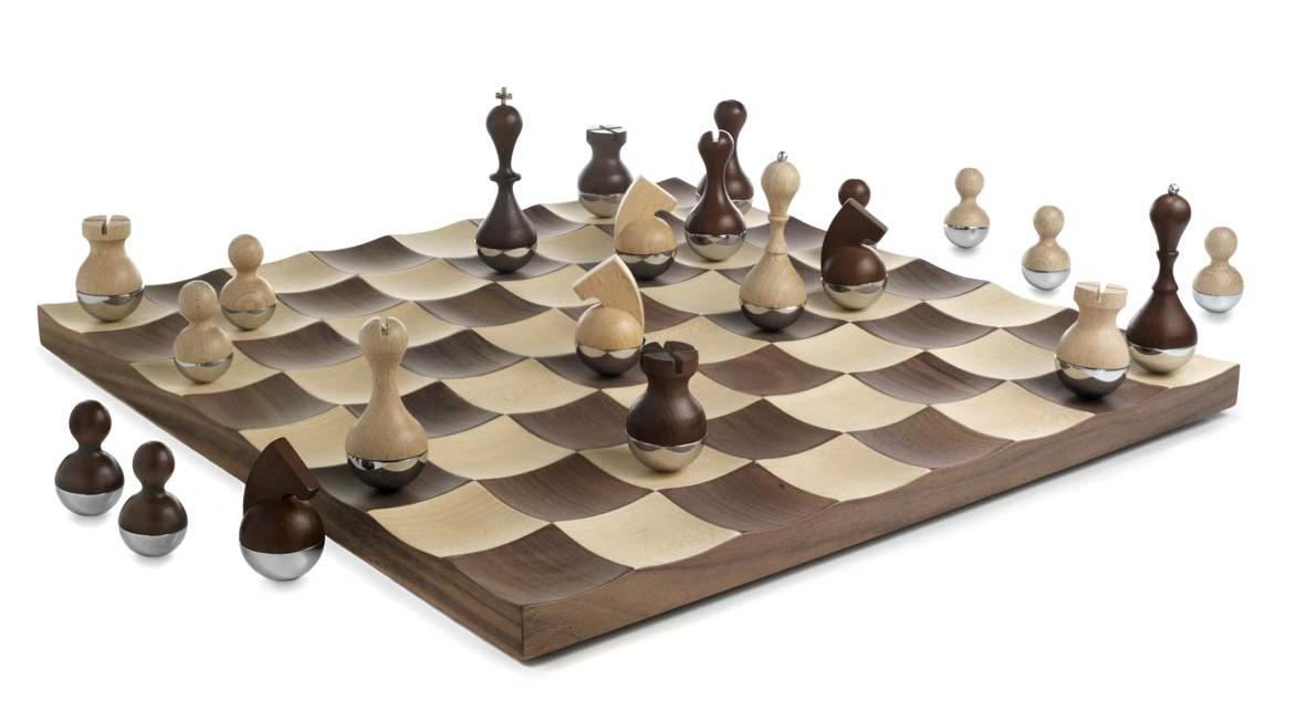 15 cool and unusual chess sets part 2 - Coolest chess boards ...