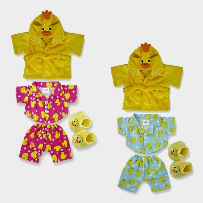 Yellow Chick teddy clothes fit build a bear teddies