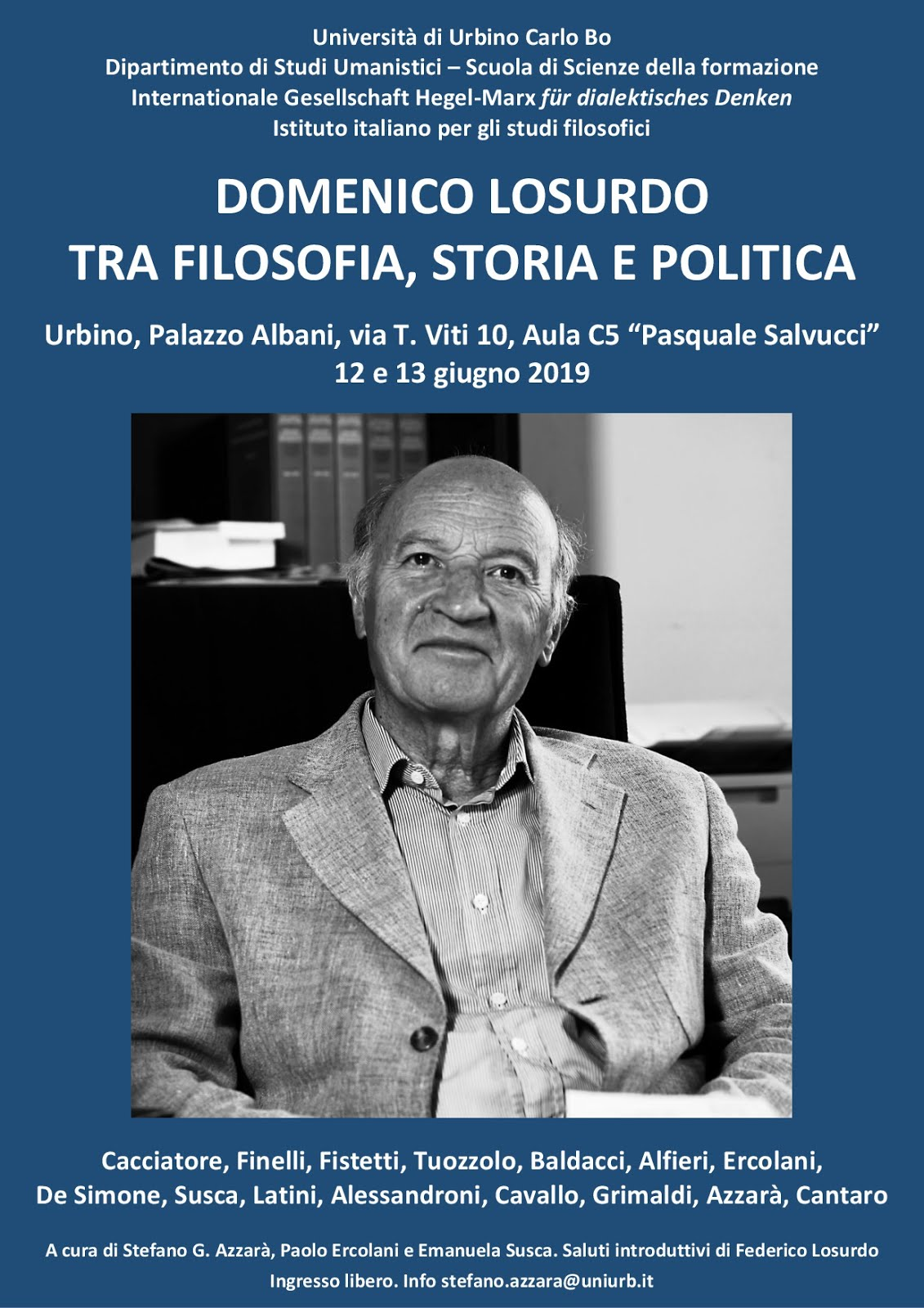 Domenico Losurdo tra filosofia, storia e politica