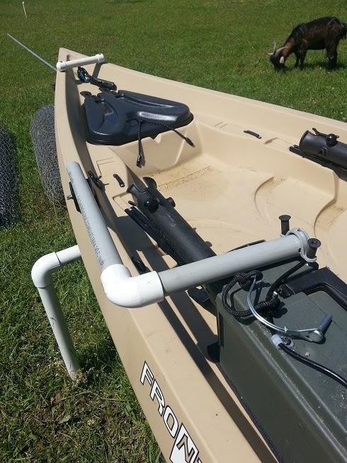 Nobody 39 s kayak tips portable fish finder for Fish finder kayak