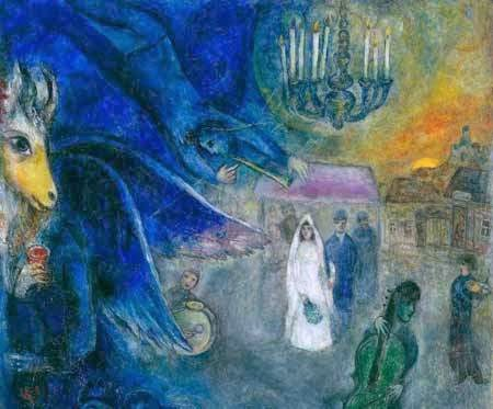 Art Review Chagall Love War And Exile