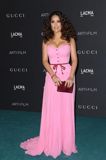 Actress @ Salma Hayek - LACMA 2015 Art+Film Gala Honoring James Turrell And Alejandro G Inarritu in LA