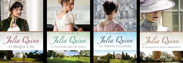 Série os Bridgertons Julia Quinn Editora Arqueiro