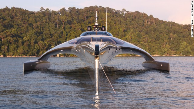 iPad superyacht