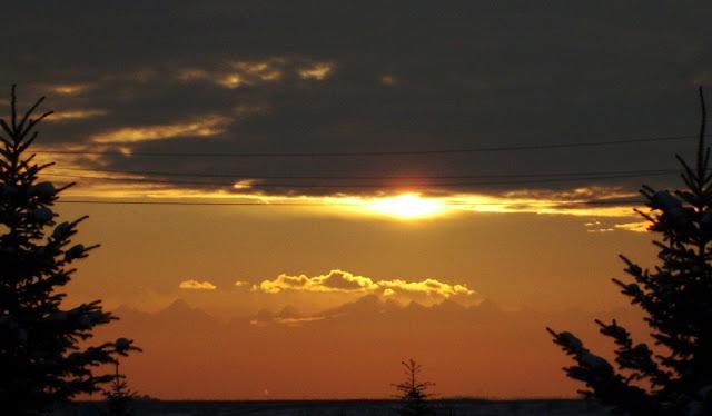 то ли рассвет, то ли закат